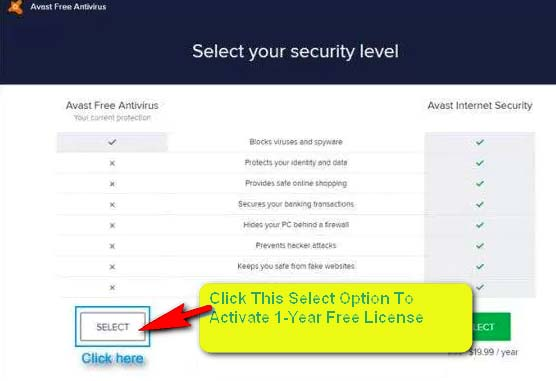 Avast License Key Activation Code Free