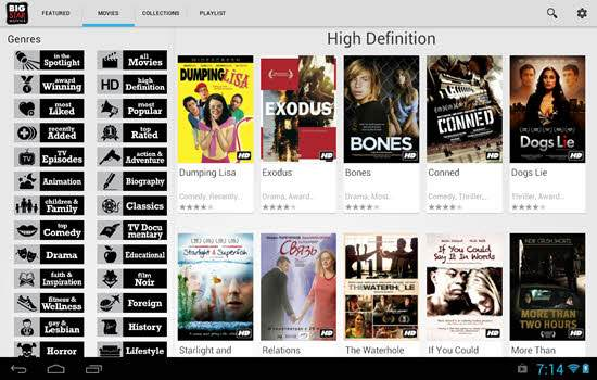Best Movie App for Android Smartphone