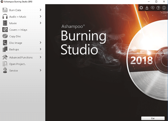 Ashampoo Burning Studio 2018 License Key Free