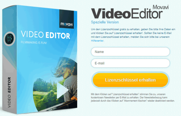 Movavi Video Editor 14 License Key