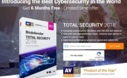 Bitdefender Total Security 2018 Free 6 Months Subscription Download