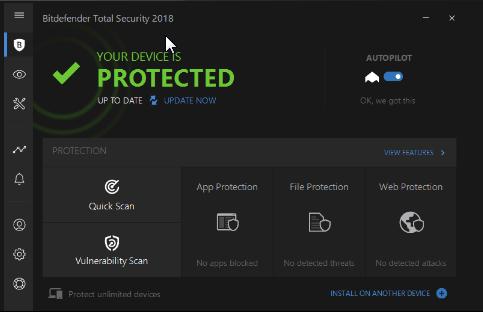 Bitdefender Total Security 2018 Free 6 Months Subscription Download