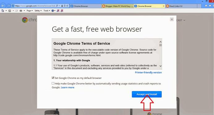Download Google Chrome Offline Installer