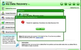 Any Data Recovery Registration Key License Code Free Download (Tenorshare)