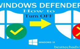 How to Turn Off Windows Defender in Windows 10 – Completely